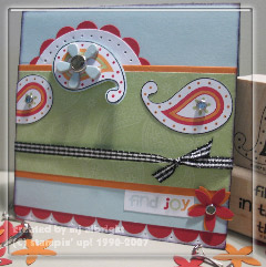 polka dots & paisley card for wsc#8
