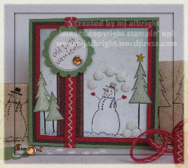 it's snow time card - wsc28