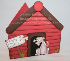 neighbor doghouse card